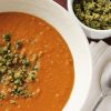 Thumbnail image for Sweet Potato and Coconut Soup with Thai Pesto