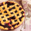 Thumbnail image for Blueberry Pie & How To Make A Lattice Top