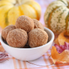 Thumbnail image for Cinnamon-Sugared Pumpkin Donut Holes