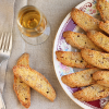 Thumbnail image for Golden Orange Almond Biscotti Sprinkled With Turbinado Sugar