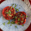 Thumbnail image for Grilled Tomatoes with Red Yuzu Kosho and Sansho