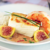 Thumbnail image for Halibut with Fig & Ginger Sauce