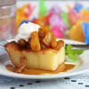 Thumbnail image for Hawaiian Custard Cake with Pineapple Caramel Sauce from Grace-Marie's Kitchen at Bristol Farms