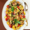 Thumbnail image for Grilled Shrimp & Potato Tomato Avocado Salad