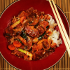 Thumbnail image for Korean Dak Galbi ~ Chicken Stir-Fry in Spicy Red Pepper Sauce with Gochugaru and Gochujang