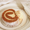 Thumbnail image for Pumpkin Roll Cake with Cream Cheese Filling