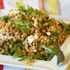 Thumbnail image for Fregola with Feta & Arugula and Sesame Sauce