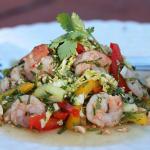 Thumbnail image for Shrimp Salad Thai Style with Gula Jawa