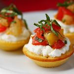 Thumbnail image for Corn Bread Tartlets & Linda Steidel's Cooking Class