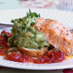 Thumbnail image for Salmon with Avocado and Sweet Chili Sauce from Grace-Marie's Kitchen at Bristol Farms