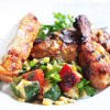 Thumbnail image for Alabama BBQ Chicken and Grilled Vege Salad From Grace-Marie's Kitchen at Bristol Farms