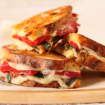 Thumbnail image for Roasted Red Pepper & Provolone Sandwiches