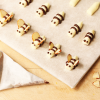 Thumbnail image for Little Buttercream Bees and How To Make A Piping Cone