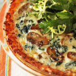Thumbnail image for Mushroom and Spinach Quiche with Shredded Potato Crust and the Top 10 Googled Recipes