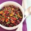 Thumbnail image for Beet, Red Cabbage & Carrot Salad with Seeds, Currants and Orange Pomegranate Molasses Dressing