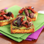 Thumbnail image for Kalamata Olive & Sun-Dried Tomato Toasts