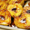 Thumbnail image for Sangria Glazed Pears & Honey Almond Cream From Grace-Marie's Kitchen at Bristol Farms