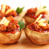 Thumbnail image for Spicy Sausage Pizza Stuffed Mushrooms