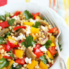 Thumbnail image for Wheat Berry, Green Olive & Roasted Pepper Salad