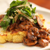 Thumbnail image for Cauliflower Steak with Mushrooms & Hee Hee