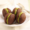 Thumbnail image for Chocolate Sandwich Cookies with Matcha Filling