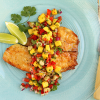 Thumbnail image for Mango & Banana Salsa with Talapia