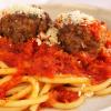 Thumbnail image for Pecorino Romano Meatballs & Spaghetti