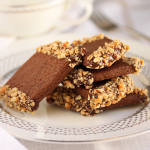 Thumbnail image for Chocolate Peanut Butter Cookies Dipped in Chocolate & Honey Roasted Peanuts