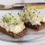 Thumbnail image for Danish Smørrebrød ~ Herring & Apples on Rye