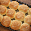 Thumbnail image for Homemade Sesame Seed Hamburger Buns