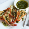 Thumbnail image for Spicy Grilled Shrimp with Green Yuzu Kosho Pesto