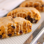 Thumbnail image for Pumpkin Cranberry Scones with Maple Glaze