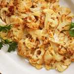 Thumbnail image for Cauliflower Roasted with Lemon Dijon Butter