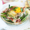 "Thumbnail image for ""Croque-Madame"" Brunch Gratin with Asparagus & Prosciutto from Grace-Marie's Kitchen"