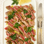Thumbnail image for Rib-Eye Carpaccio with Salmoriglio Oregano Sauce