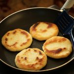 Thumbnail image for Arepas ~ Venezuelan Corn Flour Flatbreads