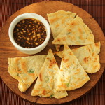 Thumbnail image for Scallion Pancakes Korean-Style with Lemon Soy Dipping Sauce