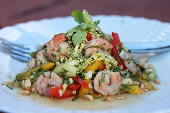 Post image for Shrimp Salad Thai Style with Gula Jawa