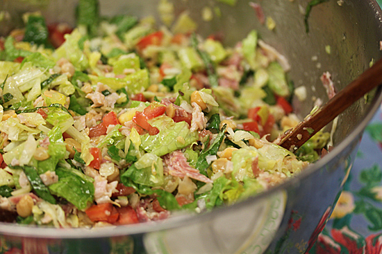 Post image for Chopped Salad and Tim Hogan's Cooking Class