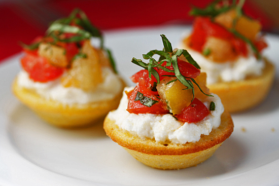 Post image for Corn Bread Tartlets & Linda Steidel's Cooking Class