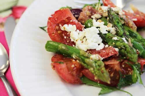 Asparagus-Tomato Salad 1