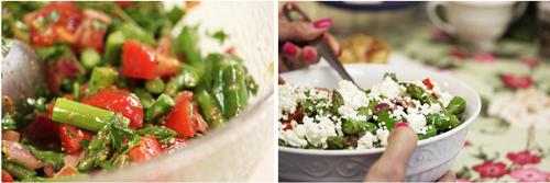 Asparagus-Tomato Salad