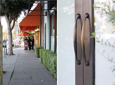 Mozza Valet - Front Door