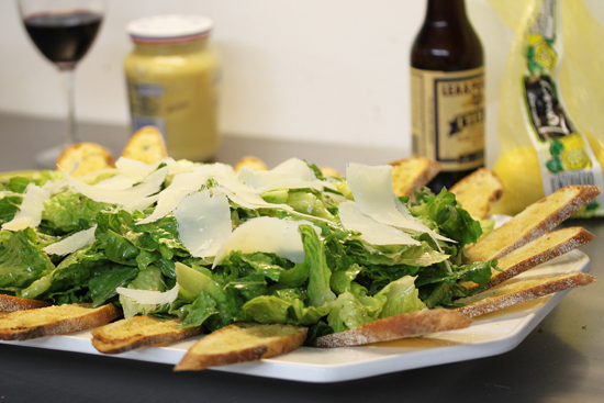Post image for Caesar Salad and Mary Ellen Rae's Cooking Class