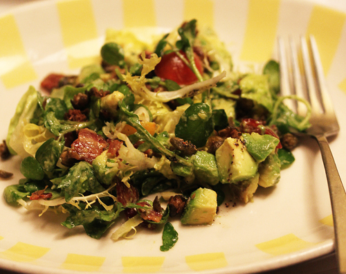 California Avocado, Bacon and Tomato Salad
