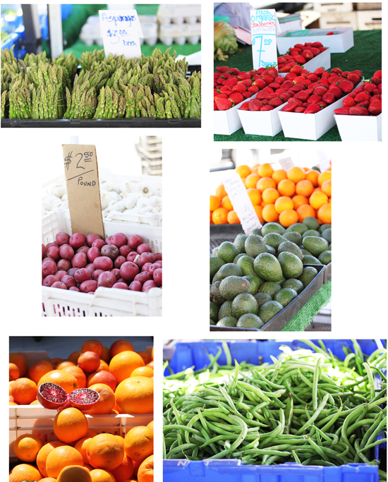 Manhattan Beach Farmer's Market 1