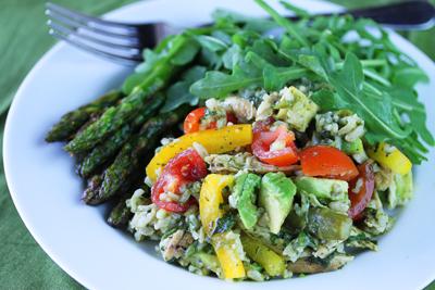 Rice-Chicken-Avocado-Salad