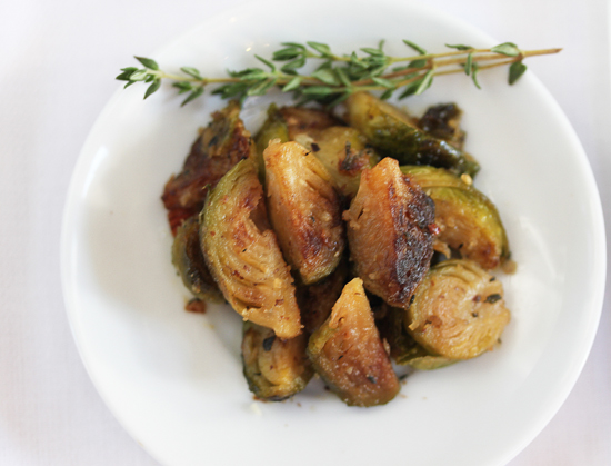 Post image for Brussels Sprouts with Hazelnut Butter