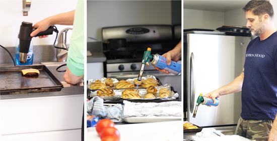 16 Torch Burgers Chicken