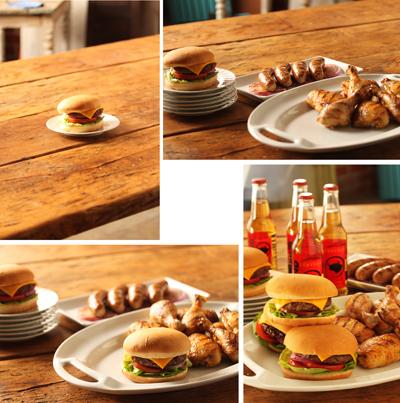 18Chicken Sausage Burgers